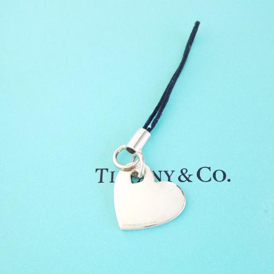 charm RARE Tiffany & Co Pink enamel Double Heart Zipper Pull Charm