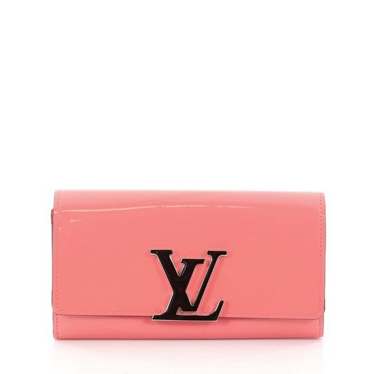 Preload https://item3.tradesy.com/images/louis-vuitton-louise-wallet-long-pink-patent-leather-wristlet-23338682-0-0.jpg?width=440&height=440