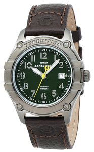 Timex Timex Male Sport Watch T49804 Green Analog