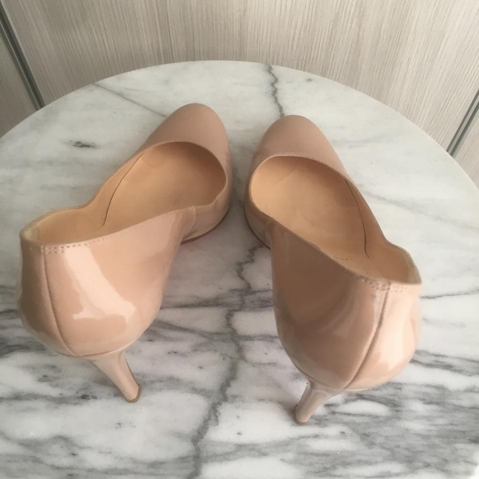 635ce01bec4 Christian Louboutin Nude Simple 85 Patent Leather Heels Pumps Size US 6  Regular (M, B) 57% off retail