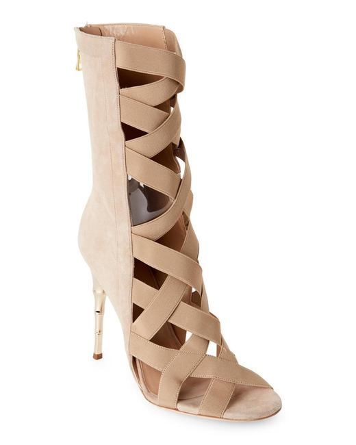 Item - Sand Tali Suede Elastic Bamboo Sandals Boots/Booties Size EU 38.5 (Approx. US 8.5) Regular (M, B)