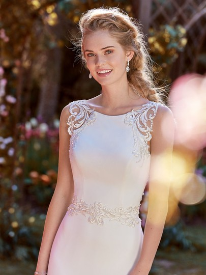 Preload https://item5.tradesy.com/images/maggie-sottero-ivorypewter-accent-crepe-ada-modern-wedding-dress-size-8-m-23338749-0-0.jpg?width=440&height=440
