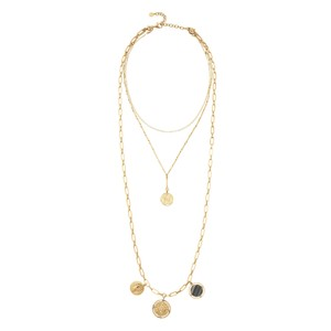 Stella & Dot Brand New Stella & Dot Gold Dez Layered Necklace 3 in 1 Necklaces