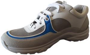 Chanel Sneakers Blue Grey white Athletic