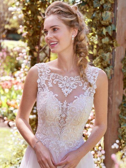 Preload https://img-static.tradesy.com/item/23338791/maggie-sottero-ivory-over-soft-blush-lace-tulle-and-organza-joyce-modern-wedding-dress-size-12-l-0-0-540-540.jpg