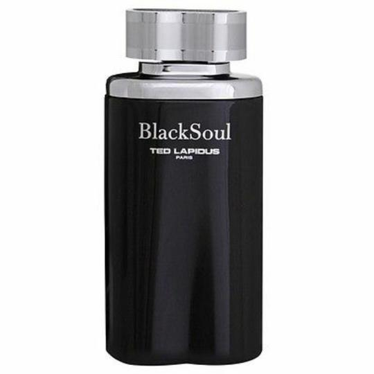 Ted Lapidus BLACK SOUL BY TED LAPIDUS FOR MEN-EDT-100 ML-TESTER-FRANCE