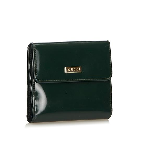 Gucci Patent Leather Wallet