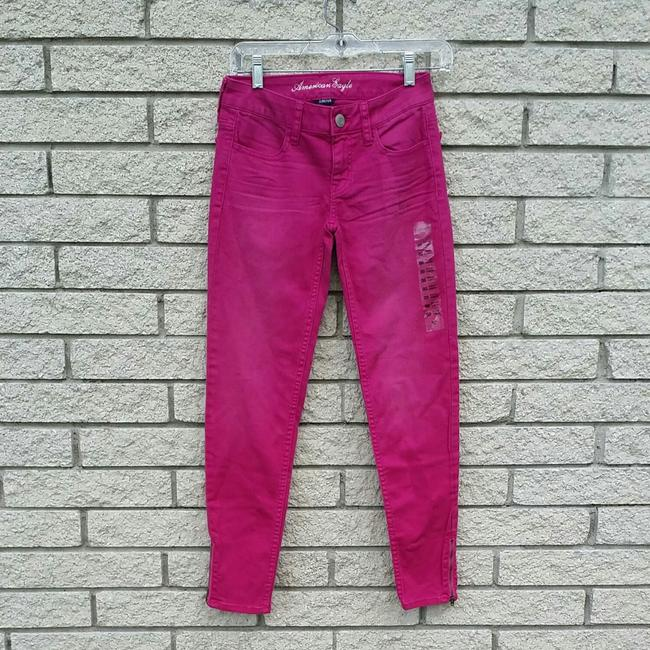 Preload https://img-static.tradesy.com/item/23338814/american-eagle-outfitters-pink-skinny-jeans-size-23-00-xxs-0-0-650-650.jpg