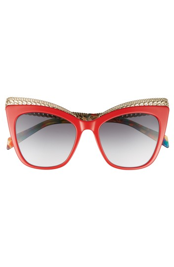 Preload https://item3.tradesy.com/images/moschino-red-new-009s-chain-gold-cat-eye-sunglasses-23338817-0-0.jpg?width=440&height=440