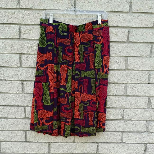 LuLaRoe Skirt Purple pink