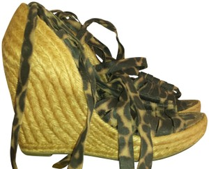 Sam Edelman LEOPARD Wedges