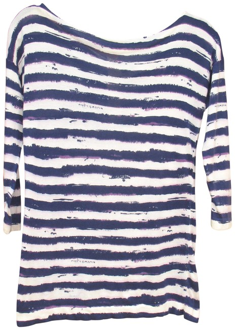 Preload https://item3.tradesy.com/images/coach-striped-1941-sweaterpullover-size-6-s-23338882-0-1.jpg?width=400&height=650