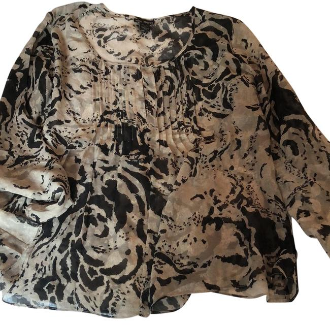 Preload https://item2.tradesy.com/images/ella-moss-black-print-silk-blouse-size-4-s-23338896-0-1.jpg?width=400&height=650