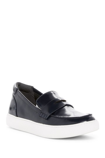 Kenneth Cole Loafer Brick Sneaker Casual Black Flats Image 0