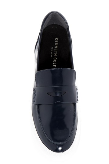 Kenneth Cole Loafer Brick Sneaker Casual Black Flats Image 2