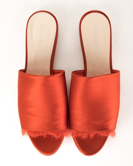 Nina Ricci red Sandals