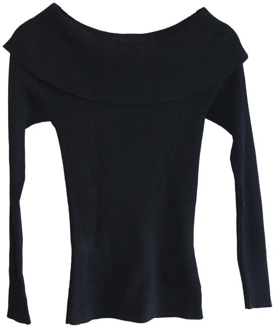 Preload https://item5.tradesy.com/images/michael-kors-navy-ribbed-off-the-shoulder-sweaterpullover-size-4-s-23338959-0-1.jpg?width=400&height=650