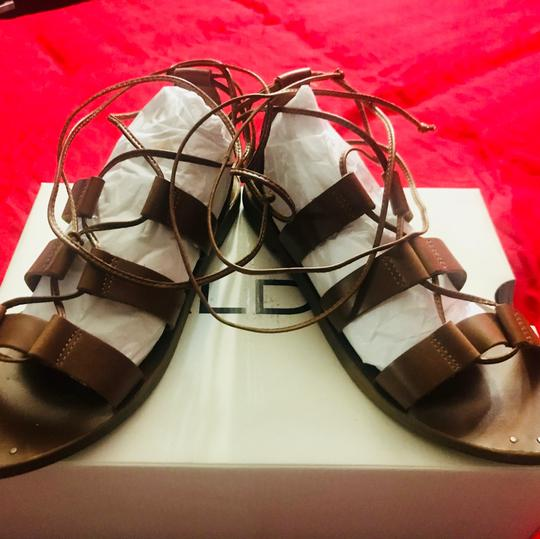 ALDO brown tan Flats