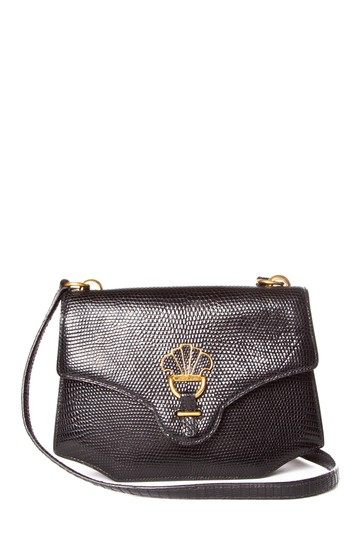Preload https://item4.tradesy.com/images/hermes-black-lizard-skin-leather-shoulder-bag-23339023-0-0.jpg?width=440&height=440