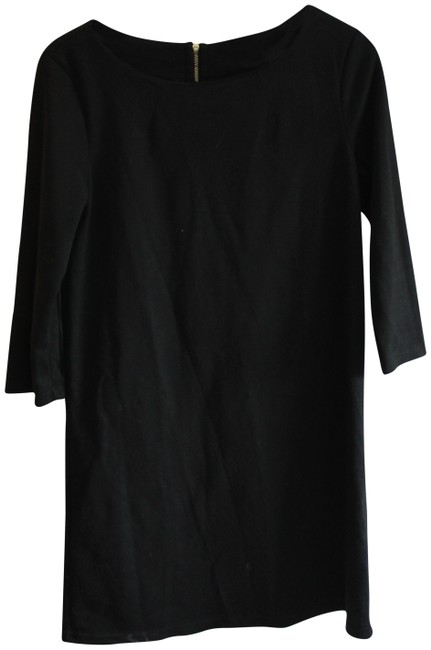 Preload https://item2.tradesy.com/images/h-and-m-black-cute-and-simple-pullover-short-casual-dress-size-4-s-23339026-0-2.jpg?width=400&height=650