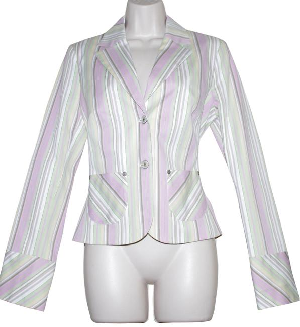 Preload https://img-static.tradesy.com/item/23339027/abs-by-allen-schwartz-multi-color-cotton-blend-pink-green-white-striped-women-s-blazer-size-6-s-0-2-650-650.jpg