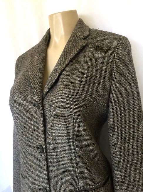 Lauren Ralph Lauren Jacket Wool Tweed Pea Coat