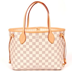 Louis Vuitton Neverfull Classic Leather Monogram Tote in Brown 5979