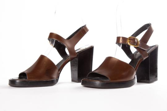 Robert Clergerie Brown Sandals
