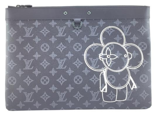 Preload https://item3.tradesy.com/images/louis-vuitton-pochette-18562-apollo-gm-large-case-portfolio-monogram-black-with-vivienne-front-and-b-23339057-0-1.jpg?width=440&height=440