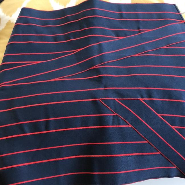 Band of Outsiders Skirt Navy/Red