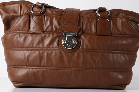 Dolce&Gabbana Large Satchel in Brown Image 4
