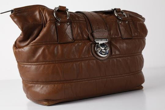 Dolce&Gabbana Large Satchel in Brown Image 6