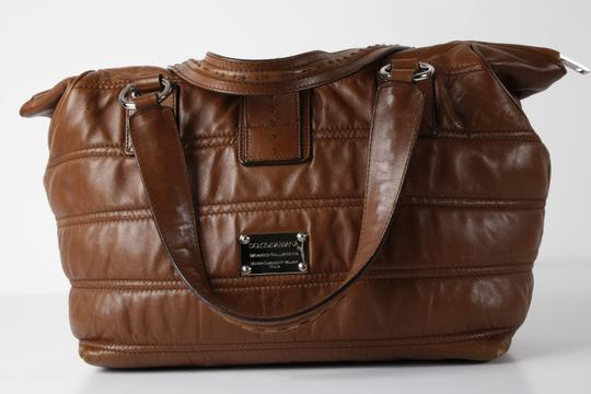 Dolce&Gabbana Large Satchel in Brown Image 7