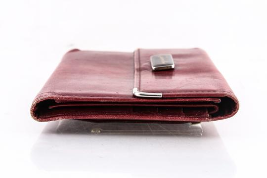 Givenchy Givenchy Checkbook Organiser Wallet Red