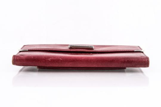 Givenchy Givenchy Checkbook Organizer Wallet Red Image 4