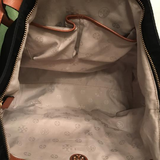 Tory Burch Purse Handbag Shoulder Satchel Weekend/Travel Tote in Black Brown