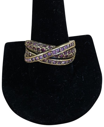 Preload https://item1.tradesy.com/images/heidi-daus-bronze-and-purple-classic-kiss-crystal-ring-23339215-0-4.jpg?width=440&height=440