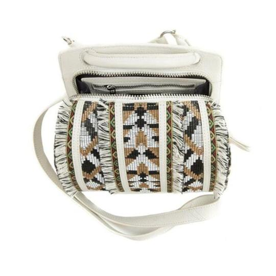 Sam Edelman Woven Chain Strap Leather Crossbody Shoulder Bag Image 6