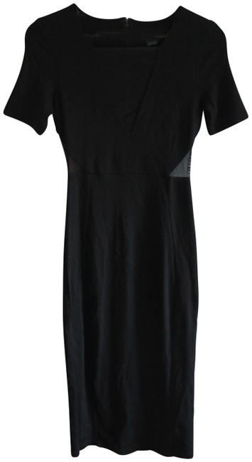 Preload https://item3.tradesy.com/images/french-connection-black-band-mesh-insert-bodycon-mid-length-cocktail-dress-size-4-s-23339237-0-1.jpg?width=400&height=650