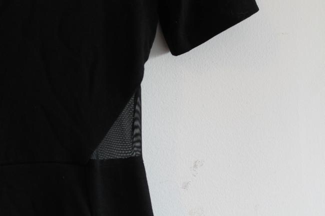 French Connection Band Mesh Bodycon Insert Dress