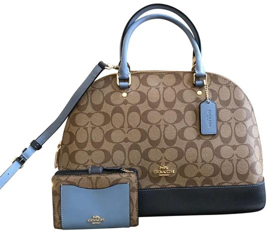 Preload https://item2.tradesy.com/images/coach-sierra-w-2pcs-color-block-logo-monogram-bundled-wwallet-khakimidnight-pool-coated-canvas-satch-23339271-0-2.jpg?width=440&height=440