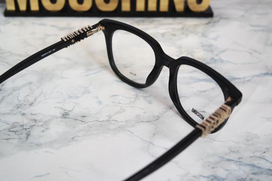 Moschino NEW Moschino MOS 513 Black Square Logo Leg Eyeglasses Frames