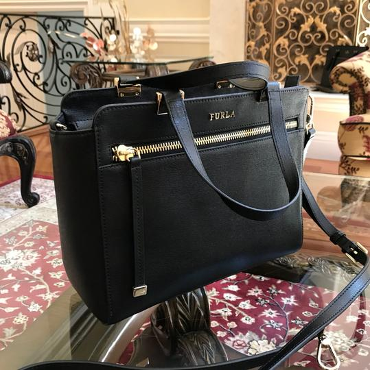 Furla Satchel in Onyx black
