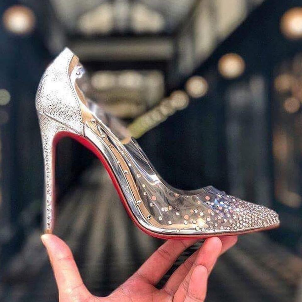 quality design bb50e 2c1a2 Christian Louboutin Degrastrass Pvc 100 Mm Stiletto Heel 9.5 Pumps Size EU  39.5 (Approx. US 9.5) Regular (M, B) 18% off retail