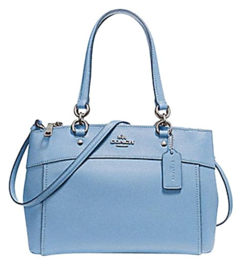 Preload https://item4.tradesy.com/images/coach-christie-mini-brooke-carryall-f25928-57523-pool-blue-leather-satchel-23339393-0-1.jpg?width=440&height=440