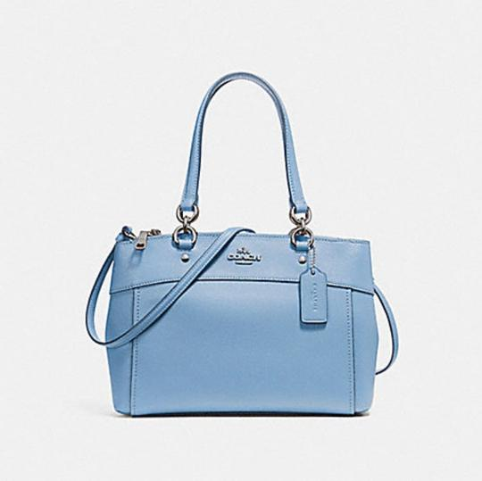 Coach Carryall 34797 36704 Christie Satchel in pool blue