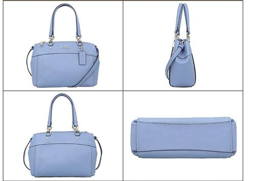 Coach Carryall 34797 36704 Christie Satchel in blue