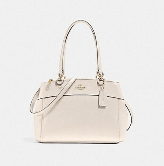 Coach Carryall 34797 36704 Christie Satchel in chalk