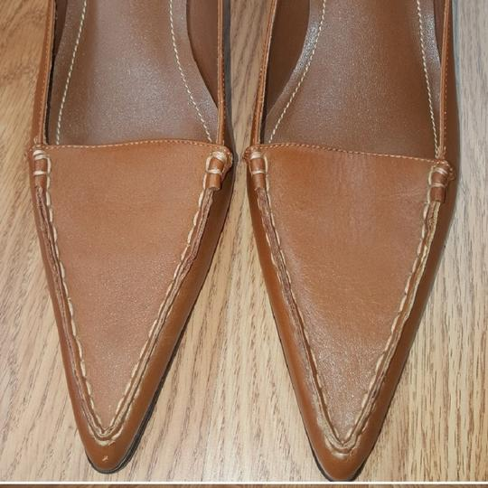 Lauren Ralph Lauren Brown Mules