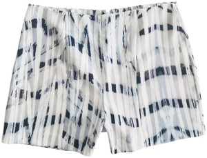 Shilla the Label Party Fancy Designer Dress Shorts Blue White